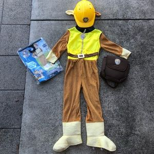 Paw Patrol Rubble Deluxe Costume 5T - 6T